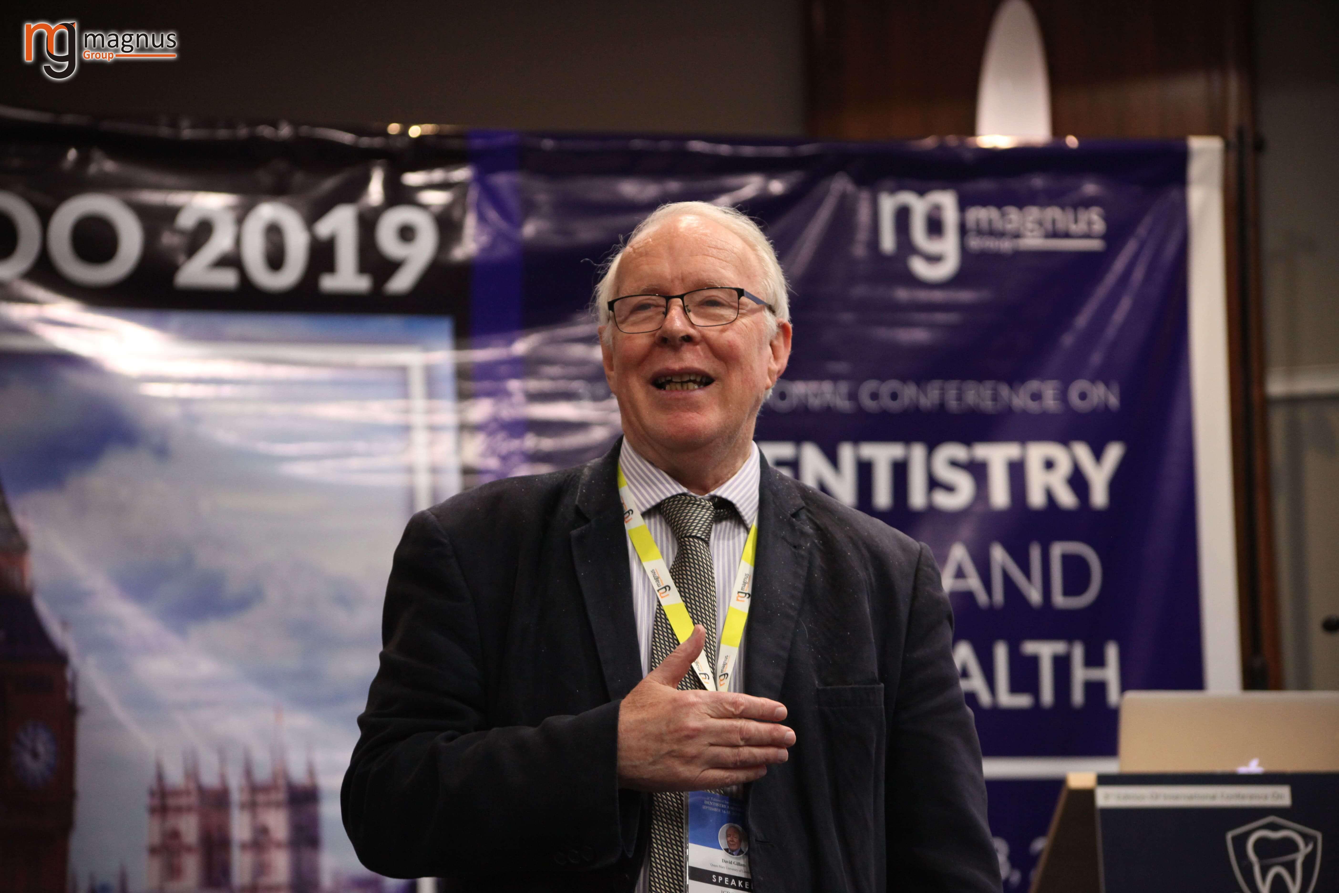Oral Health Conferences -David Gillam