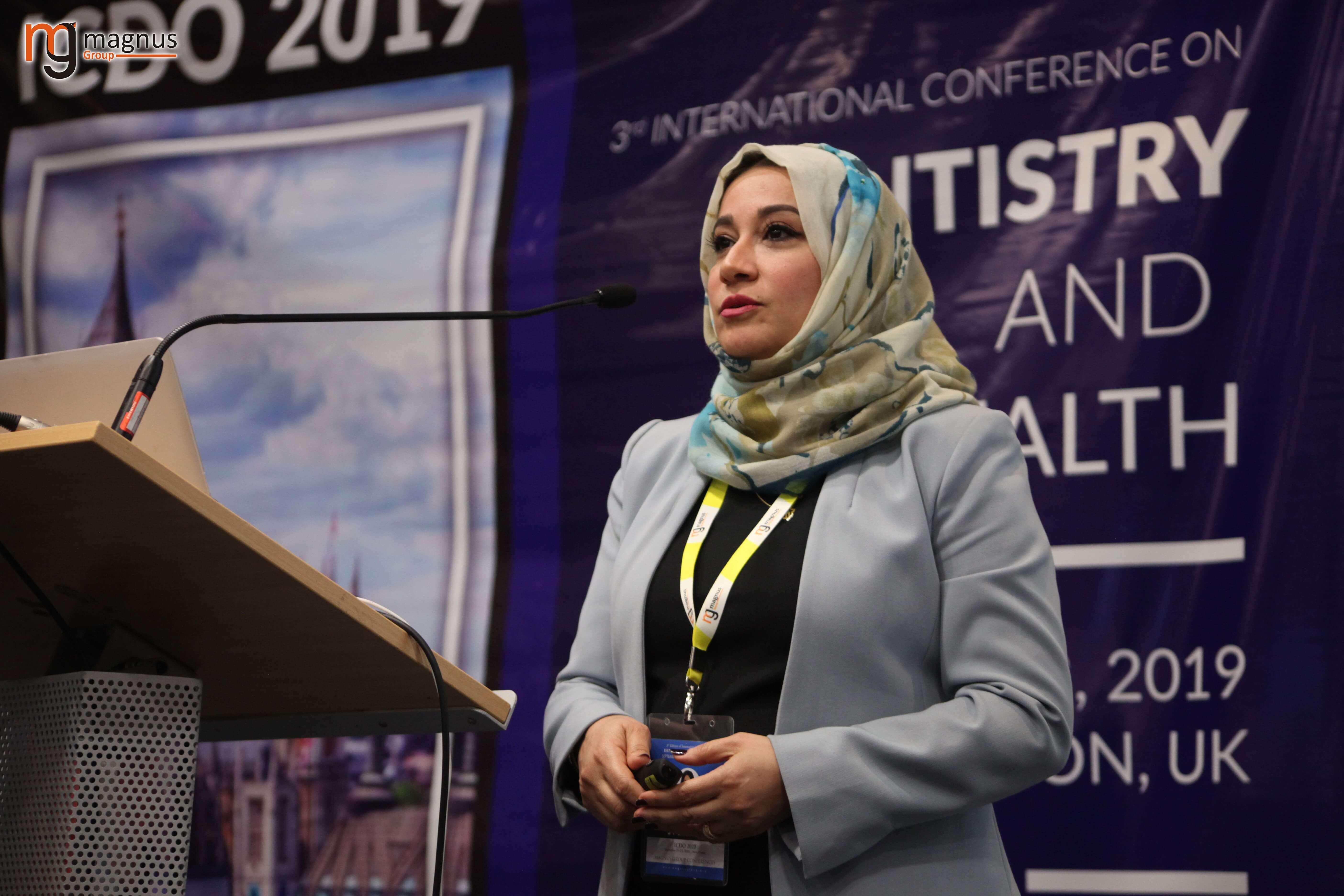 International Dental Conference- Israa Awad Bahaa Al Deen Al Aubi
