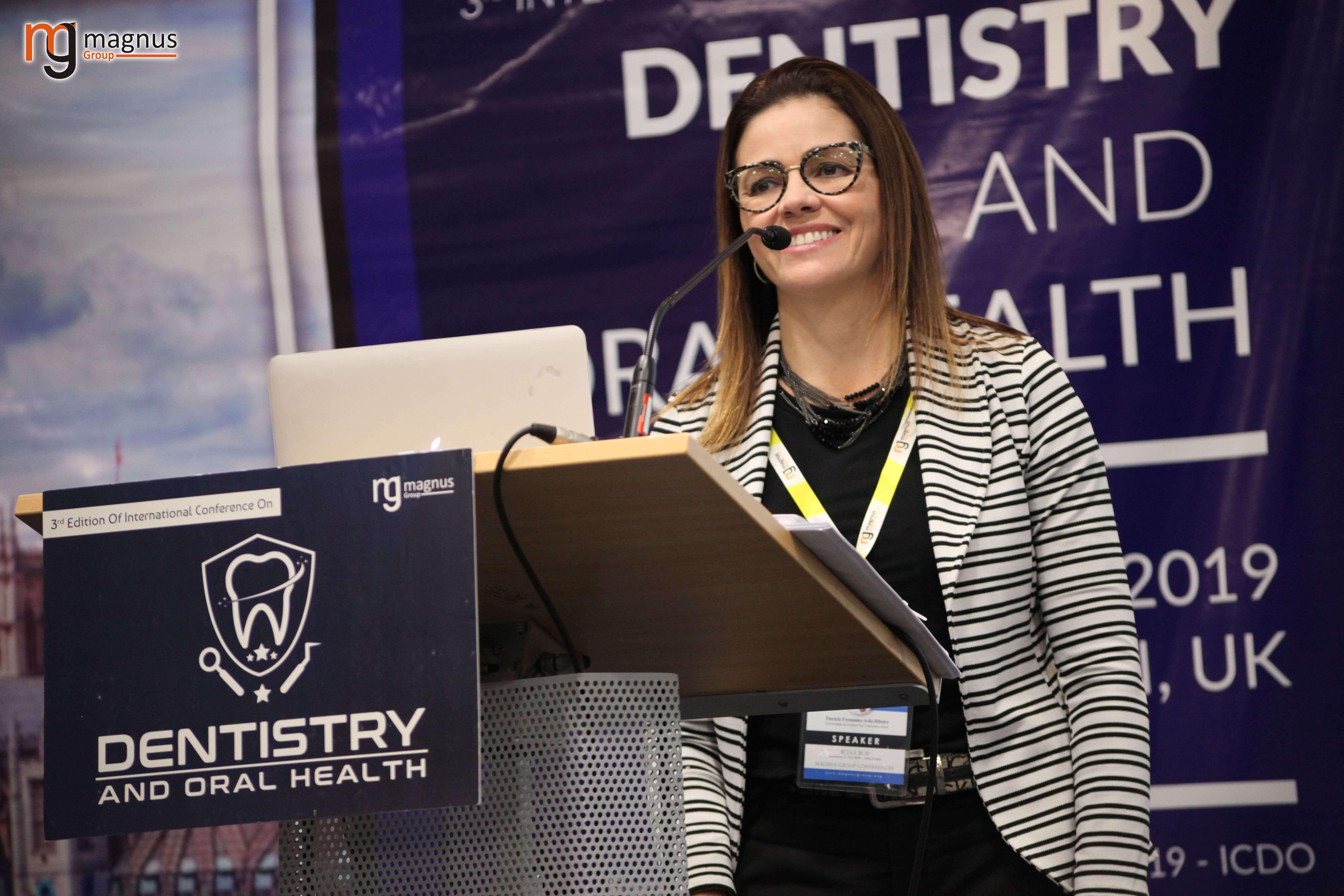 International Dental Conferences- Patricia Fernandes Avila Ribeiro
