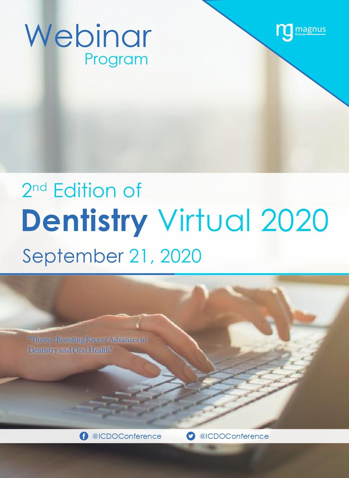 2nd Edition of International Webinar on Dentistry and Oral Health | Online Event Program